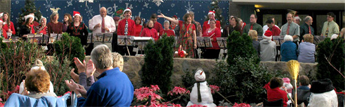 Christmas concert at the Domes